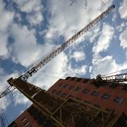 Монтаж башенного крана КБ 408 фото