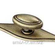 Ручка-кнопка с накладкой - GR061/АЕ фото