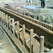 Возведение водозаборных плотин фото