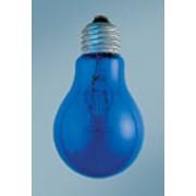 Лампы накаливания среднегабаритные синие фото