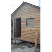 Деревянный дачный дом (перевозной) фото