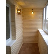 Внутренняя отделка балконов фото