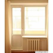 Двери балконные фотография