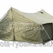 Палатка брезентовая от 4-х до 15 мест армейская фото