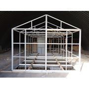 Дачный домик из металла своими руками 66
