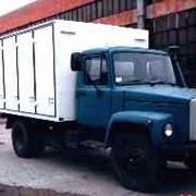Фургон для перевозки хлебо-булочных изделий в лоткахна базе шасси ГАЗ-3309 фото