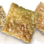 Слайсы соленые: с сыром, с паприкой и тмином. фото