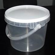 Пластиковое ведро 2.3 литра фото