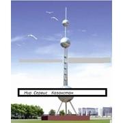 Скульптура из нержавеющей стали башня Городской пейзаж фото