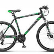 "Велосипед Stels Navigator-500 MD 26"", 16"" черный/зеленый, арт. V020 фото"