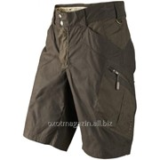 Брюки укороченные Mountain Trek shorts, Hunting green/Shadow brown фото