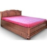 Кровать 1600 Rotemburg с боковыми ящиками фото