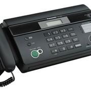 KX-FT984CA-B Panasonic факсимильный аппарат на термобумаге, Чёрный
