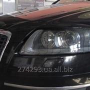 Замена биксеноновых линз в фарах Audi A6 F4 фото