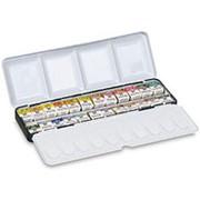 Набор акварельных красок MaimeriBlu в кюветах, 24 цвета х 1,5 мл фото