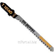 Пилки для лобзика по ламинату Практика тип T101AO 76 х 50 мм, криволинейный рез, HCS (2шт.), арт. 3672 фото