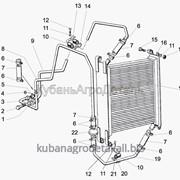 Запчасти для спецтехники МЛ131 Радиатор масляный фото
