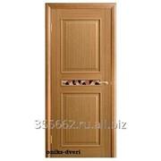 Межкомнатная дверь Ника, светлый дуб фото