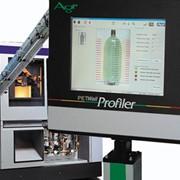 Система мониторинга распределения материала в стенках бутылок. фото