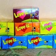 Жевательная резинка Турбо, Love Is фото