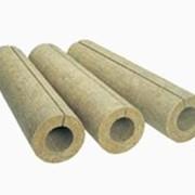 Полуцилиндры теплоизоляционные из базальтового волокна фото