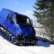 Гусеничный снегоболотоход ГАЗ-3409 Бобр пассажирский фото