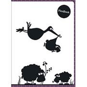 Тетрадь 80л, А5, клетка, Flex Book Expert Complete Funny Animals, бордовая фото