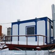 Модульная крышная котельная фото