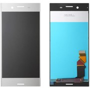 Дисплей для Sony XZ Premium в сборе с тачскрином (хром) фото