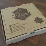 Упаковка для пиццы 330*330*40 фото