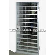 Металлическая решетчатая дверь фото
