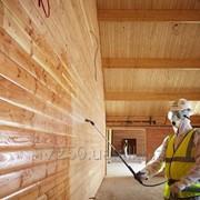 Пропитка древесины и других поверхностей огнезащитными составами фото