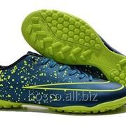 1aed6914 Футбольные сороконожки Nike Mercurial Victory V TF Squadron Blue/Black/Volt  фото
