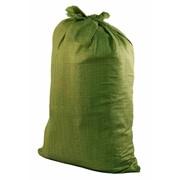 Мешок полипропиленовый зелёный 95х55, вес 55 гр. (Китай) фото