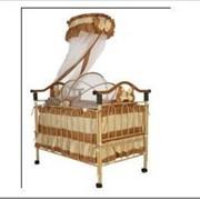 Кроватка Geoby TLY612R (цвет E461) фото