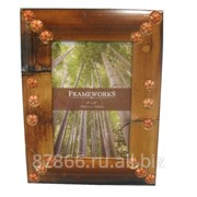 Фоторамка из бамбука в асс. в инд. упак. (10*15) (уп.80) , арт. 8616 66101-S(ver.3) фотография