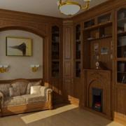 Встроенная и корпусная мебель для кабинетов фото