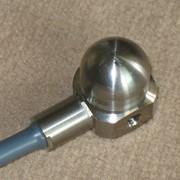 Датчик вибрации трёхканальный векторный ВТК 3 (высокотемпературный) в комплекте с трёхканальным усидителем фото