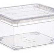 Ящик IDEA прозрачный 2 л (190*160*90) М2350 /10/ фото