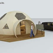 Всесезонный геокупол шатер палатка Startent GeoDome 6 S=30 фото