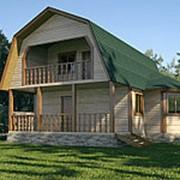 Дом из профилированного бруса 8 х 8 Снижение цены!!! фото