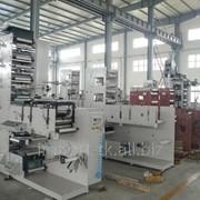 Флексографическая печатная машина, модель ZBS-450 фото