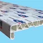 Подоконник НИКО-PLAST белый, 200мм фото