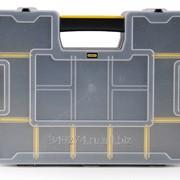 Органайзер Stanley Sort Master Junior пластмассовый 37,5Х29,2Х6,7 см, модульный 1-97-483 фото