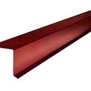 Ветровая планка ВП-250 1.5м Красно-коричневый RAL3011 фото