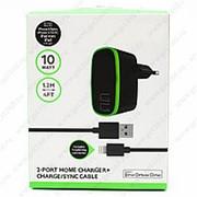 Сетевое Зарядное Устройство BLK 2 USB Lightning фото