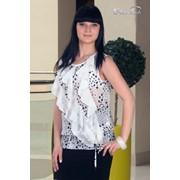 Блуза 508 Белый цвет фото