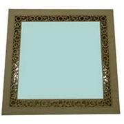 Зеркало для бани и сауны квадратное фото
