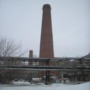 Промышленные печи и дымовые трубы фото