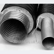 Труба Касафлекс гофрированная из нержавеющей стали с ППУ изоляцией фото